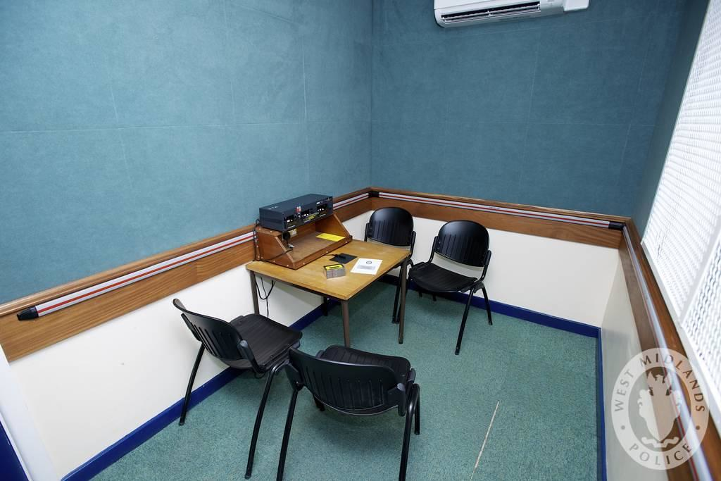 Day 188 - West Midlands Police - Custody Interview Room | Flickr