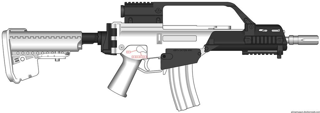 Aftermarket G36 Parts | I felt like G36s tonight, so this is