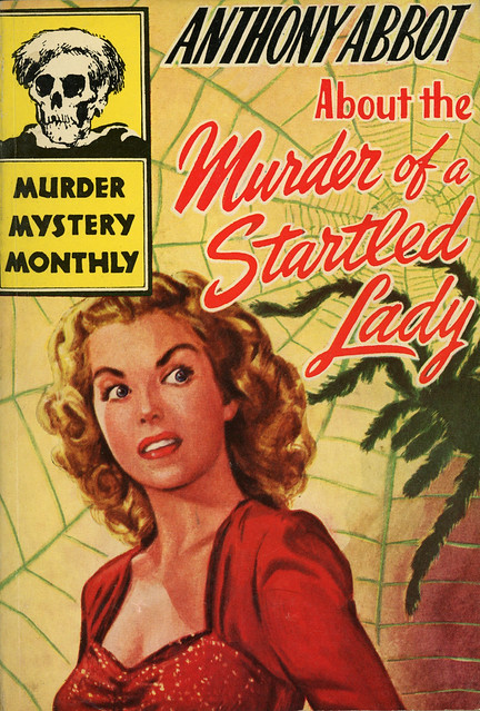 Avon Murder Mystery Monthly 25 - Anthony Abbot - About the Murder of a Startled Lady