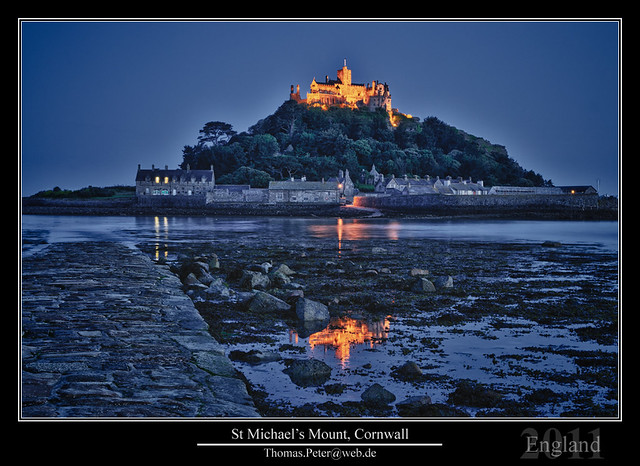 St Michael's Mount, Cornwall