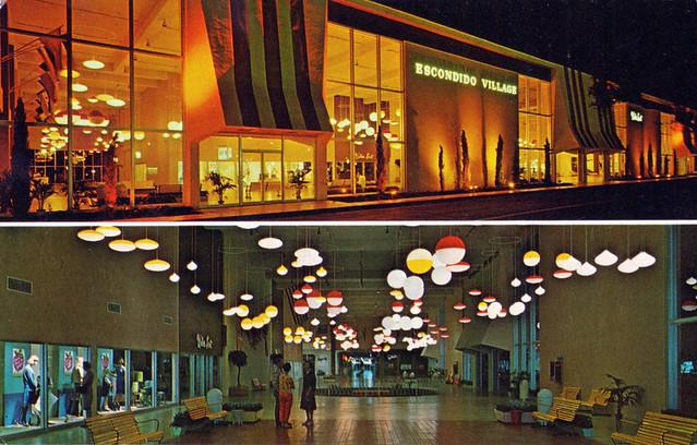 escondido village mall california 1960s