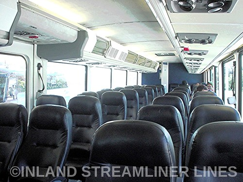 Inside Greyhound 6909 (MCI 102DL3 interior) | by Timetable Collector