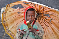 Ethiopia-Bale mountains-eating sugar cane