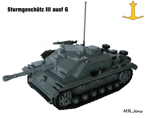 Sturmgesch U00fctz Iii Ausf G  Late  Wwii Lego
