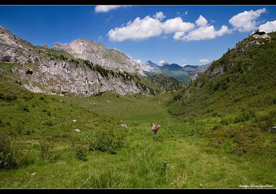 Distanziamento sociale sulle Alpi Carniche (foto del 2012)