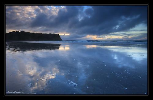 newzealand sunrise auckland waiwera wenderholm