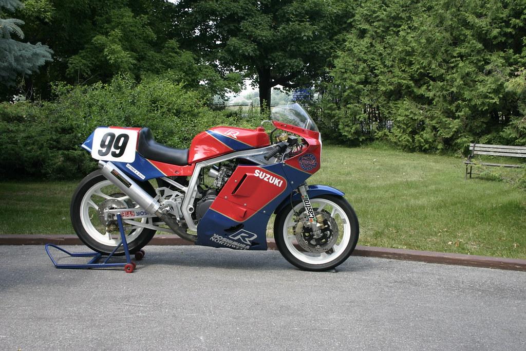 Ex-Goodfellow 1986 Suzuki GSXR-R Racer For Sale | Ex-Goodfel