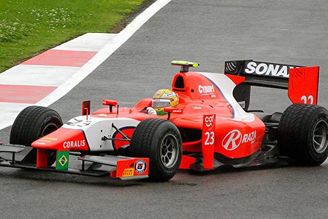 Luiz Razia at Silverstone