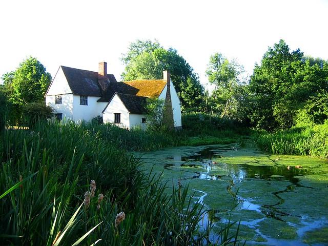 Willie Lott's Cottage, Flatford, Suffolk