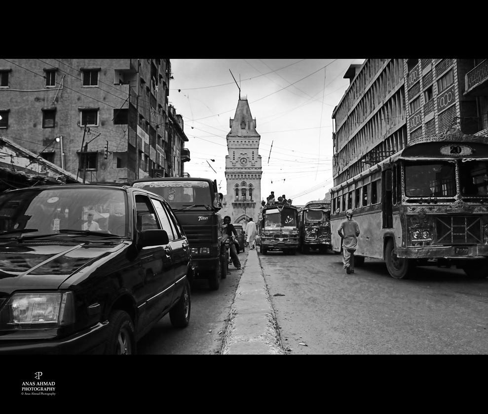 An Old City - Karachi - Pakistan | To buy a digital copy of