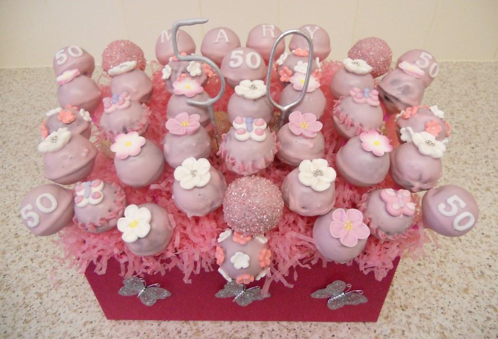 Surprising 50Th Birthday Cakepops Jax Flickr Funny Birthday Cards Online Inifodamsfinfo