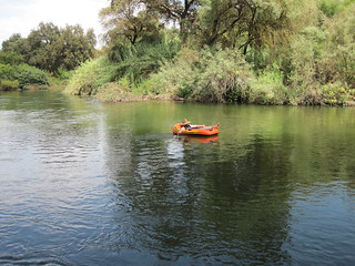 Floater on Kings River