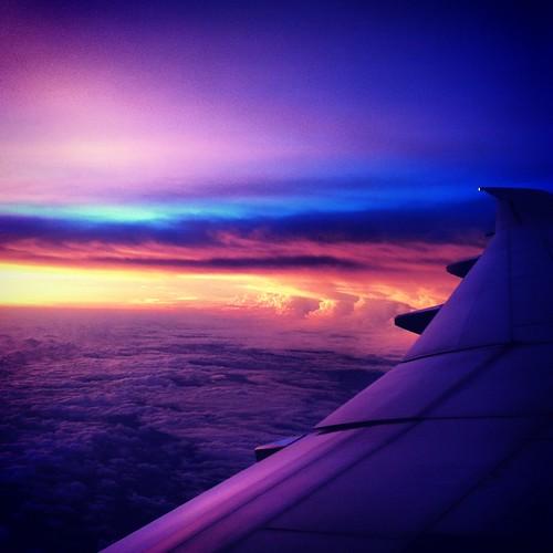 sunset sky sun color clouds sunrise airplane glow hurricane taiwan bank rise 台灣 cyclone rolling typhoon 颱風 cloudbank 台风 saola typhoonsaola