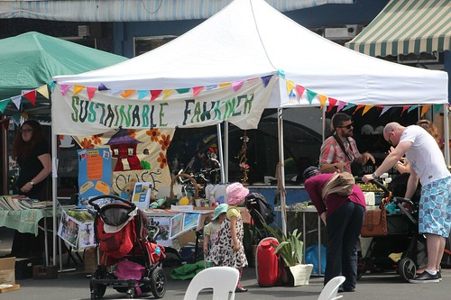 Sustainable Fawkner stall at Fawkner Festa
