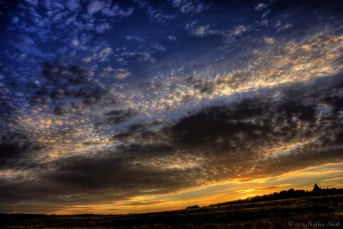 uk blue sunset summer england sky colour english nature clouds landscape gold northamptonshire july hdr cloudscapes 2015 d80 geddington