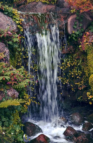 waterfall hakonegardens garden japanesegarden hdr 1xp raw nex6 photomatix california saratoga water sel50f18 fav200 creek landscape serene siliconvalley