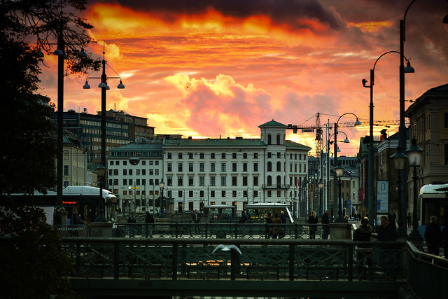 Beautiful Sunset, Gothenburg, Sweden