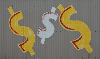 Dollars on a Fence | by mikecogh