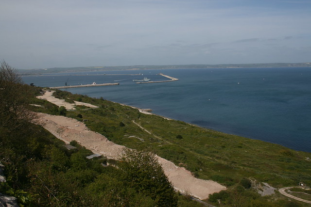 Portland Harbour from Portland