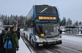 CT 15800 in the snow