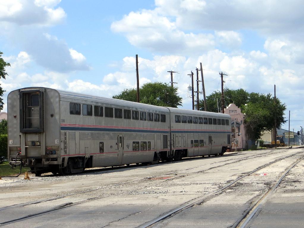 Amtrak Cars At San Antonio Tx 7 7 13 Across The Street