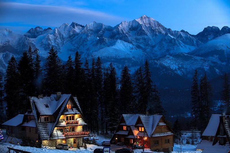 Tatry- zimowe krajobrazy / Tatra Mountains - winter landscapes