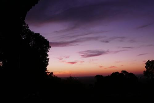 lesmurdie sunset