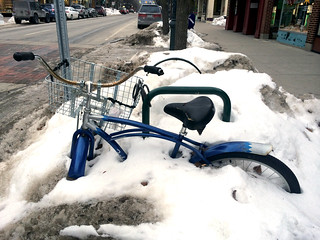 Bike parking: Year Round