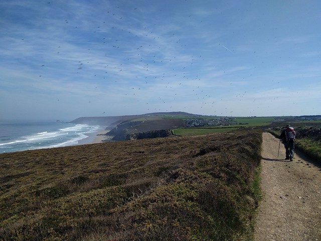 Another day on the coast path #SWCP #sh