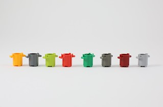 LEGO Trashcan collection | by AzureBrick