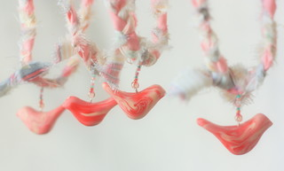Rasberry Cream Birdie Pendants | by prouaPolkovnik
