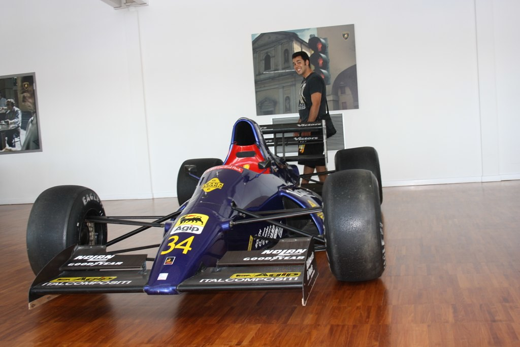 Old F1 Car Lamborghini Factory Museum Nick Manolis Flickr