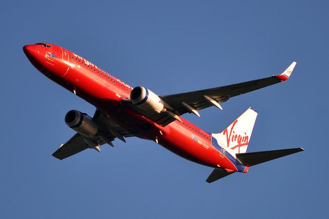 VH-VOS 'Kimberly Cutie' Boeing 737-8FE Virgin Blue (Virgin Australia)
