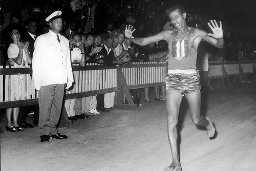 Abebe Bikila at the 1960 Olympic Games in Rome.  ©ROH/2012 | by Royal Opera House Covent Garden