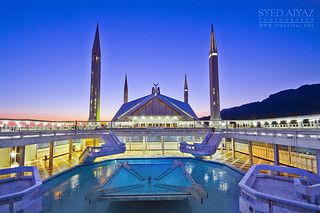 King Faisal Mosque - Islamabad - Pakistan   by SyedAiyaz [www.syedaiyaz.net]