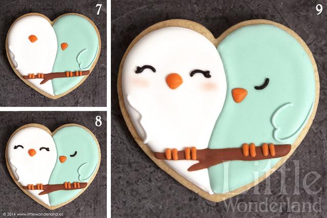 Galletas decoradas 8: Decoración de una galleta / Cookie decorating 8: Decorating a cookie