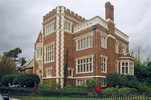 house architecture florida jacksonville mansion gothicarchitecture overcastsky