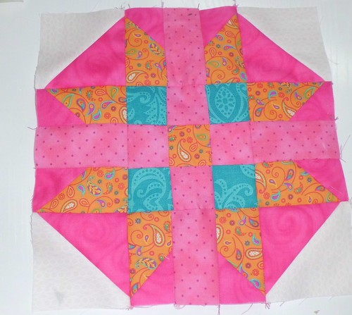 Summer Rose Block | by dresdenquilter