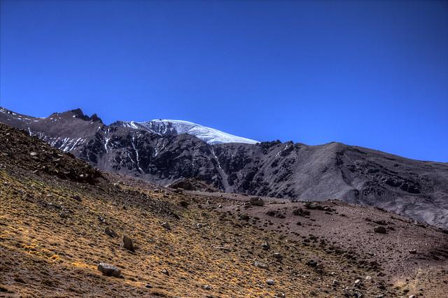 El Tapado glacier 2, High Andes, Coquimbo Region, Chile