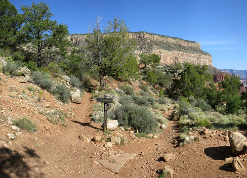 Dripping Springs Trail Junction on the Hermit Trail, Grand Canyon National Park, Arizona