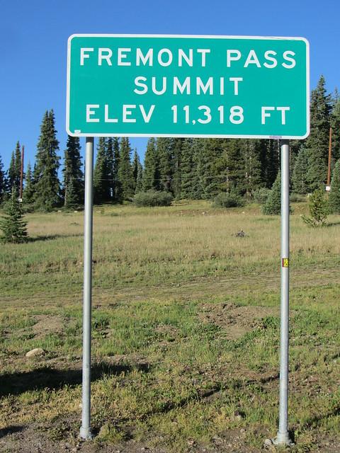 Summit of Fremont Pass