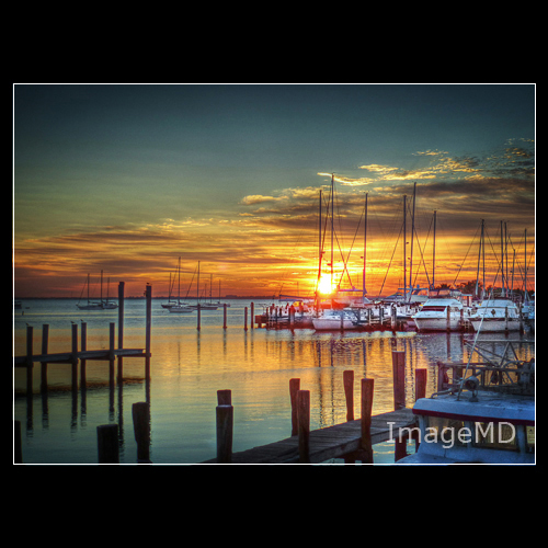 marina sunrise boats florida miami hdr coconutgrove