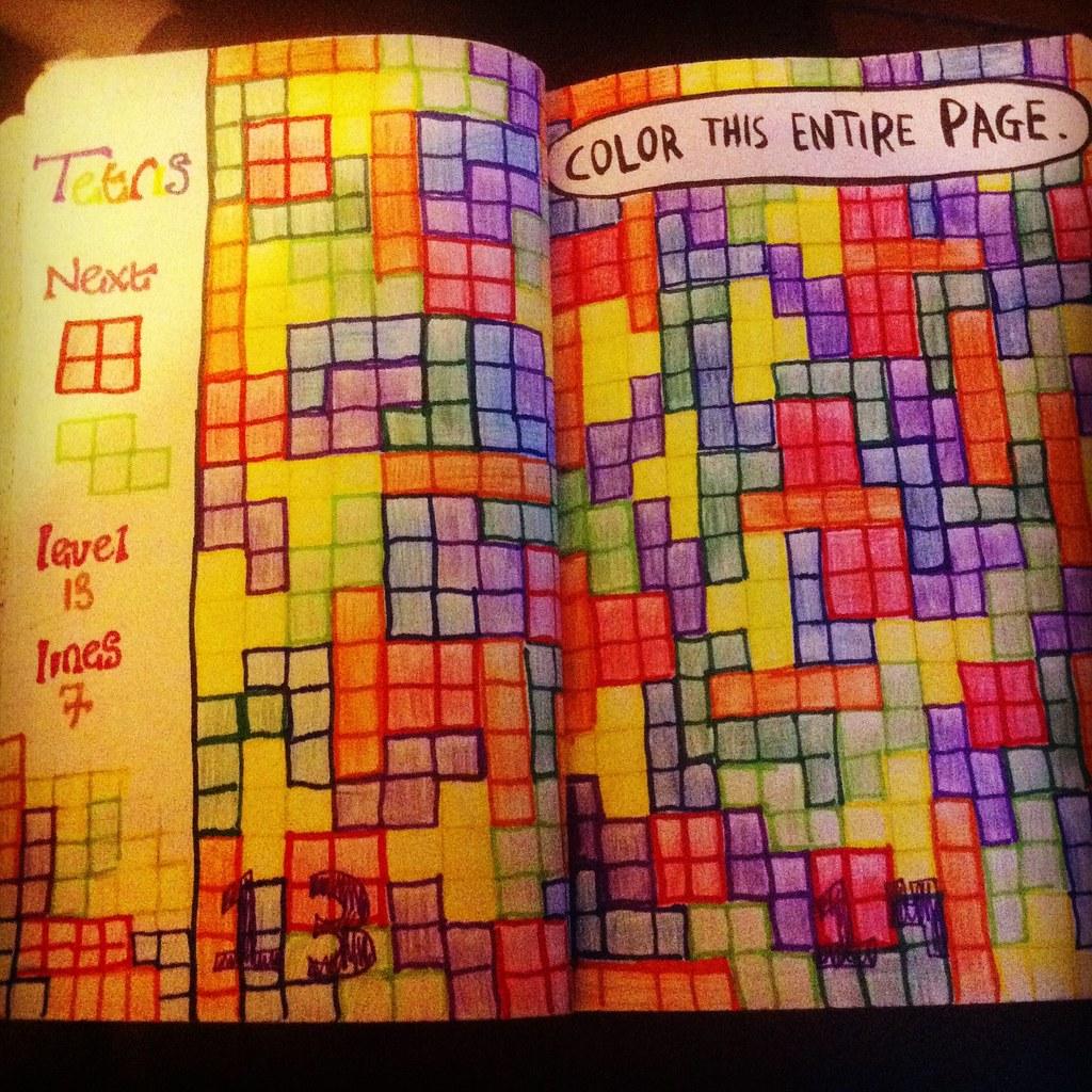 Tetris I Used To Love Tetris At High School Trisha Devlin Flickr