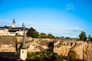 Luxembourg skyline | by Duda Arraes