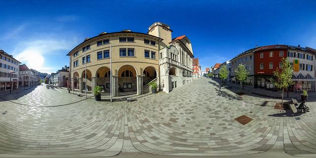 Marktstraße mit Rathaus