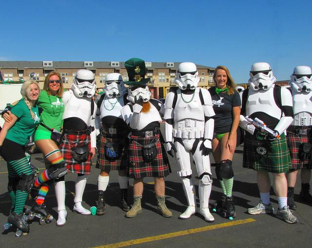 Storm Troopers Love to Wear Kilts !