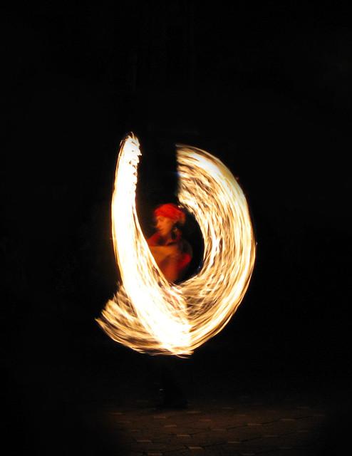 fire aura