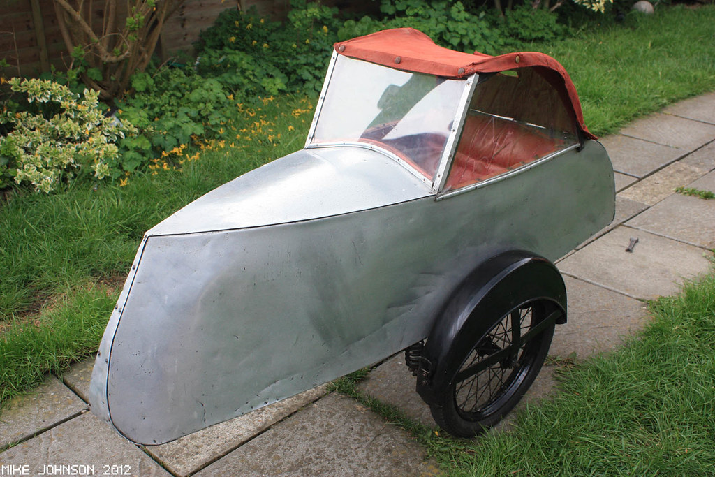 1930's Watsonian bicycle sidecar (for sale) | Flickr