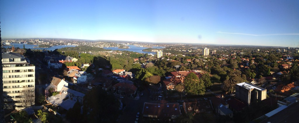 View from ACU