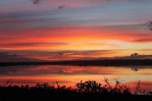 sunset orange bay swan australia victoria queenscliff explore118 5jul12